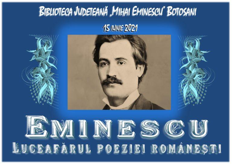 Eminescu, omagiat la Biblioteca Județeană din Botoșani