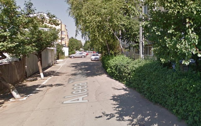 Accident pe o alee din municipiul Botoșani. Șoferul era beat criță