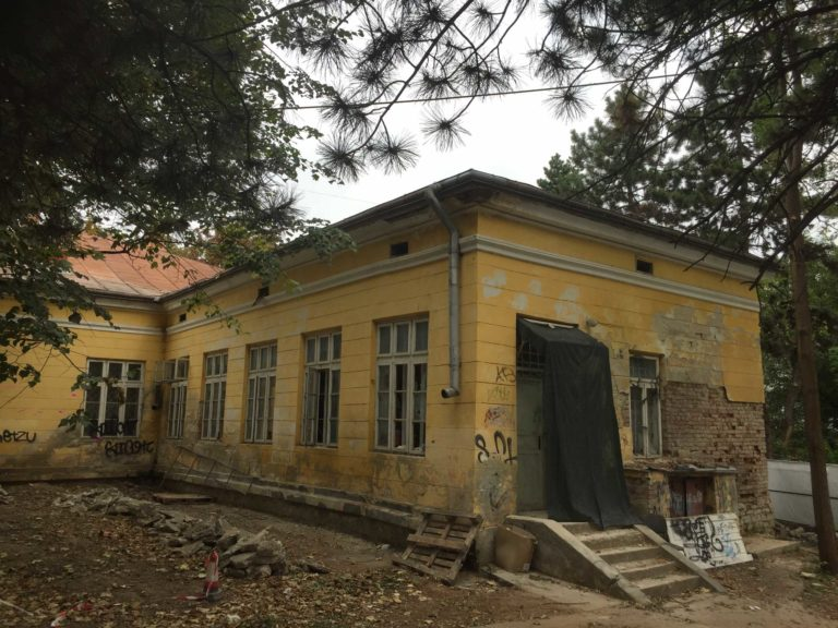 Lucrări continuate la Casa Zamfirescu