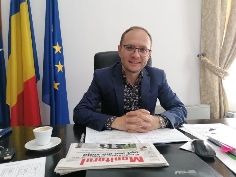 Zi emoţionantă pentru primarul Cosmin Andrei