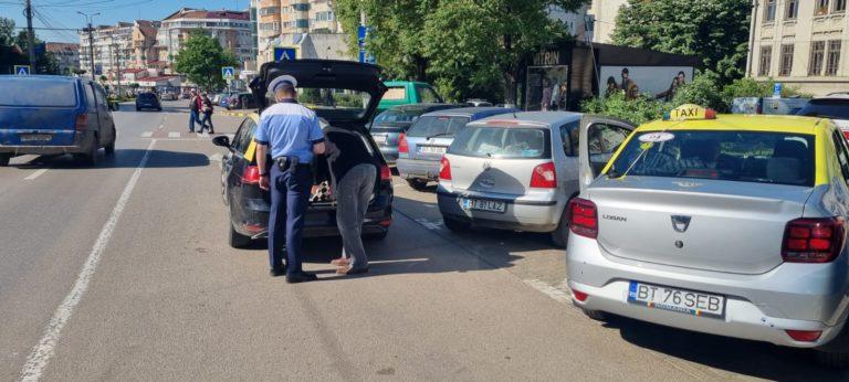 Controale la taximetriști. S-au aplicat amenzi de 3.000 de lei