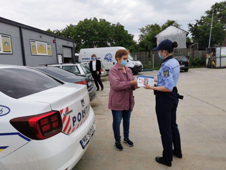 Polițiștii botoșăneni au marcat Ziua Europeană de prevenire a furturilor din locuințe