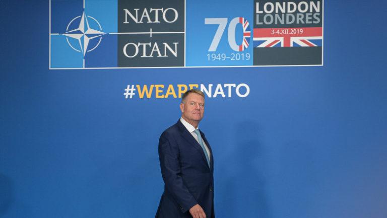 Klaus Iohannis va participa la Summitul NATO de la Bruxelles