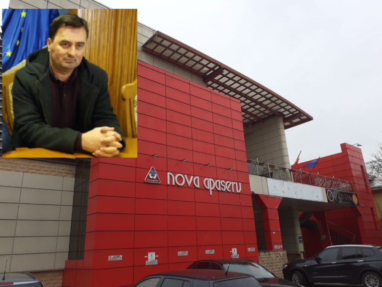Nou director general la Nova Apaserv. Gabriel Cîrlan a fost înlocuit cu Liviu Ștefan