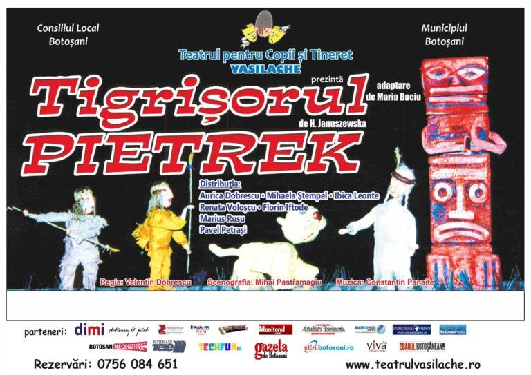 Spectacole pentru copii şi adolescenţi la Teatrul Vasilache