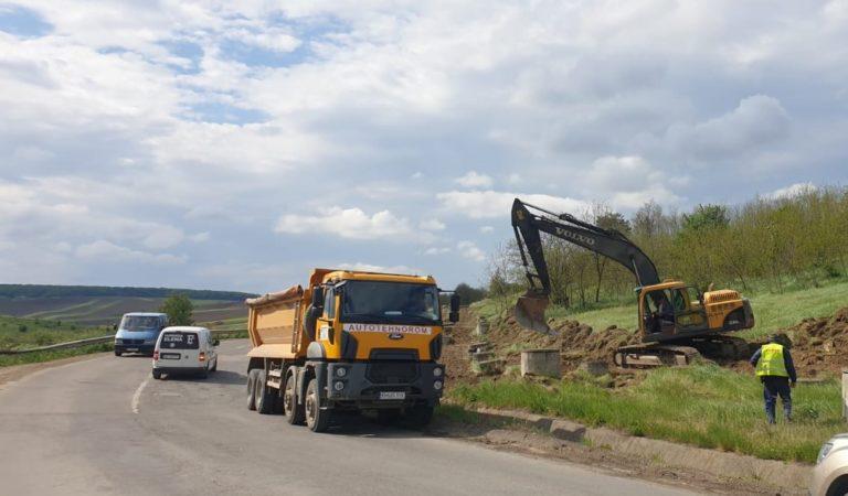 Au început lucrările de modernizare a drumului național 29D Botoșani – Ștefănești