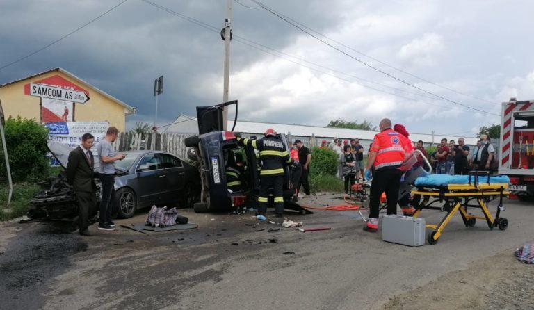 Accident grav într-o intersecţie problemă
