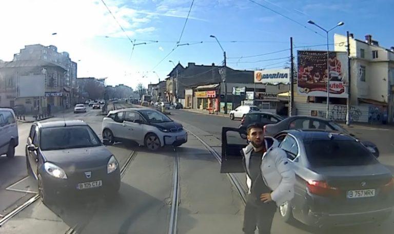 Incidentul din trafic BWM versus tramvai tranșat de judecători