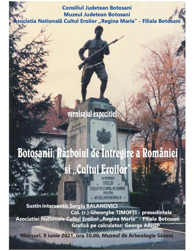 Ziua Eroilor marcată la Muzeul de Arheologie din Săveni