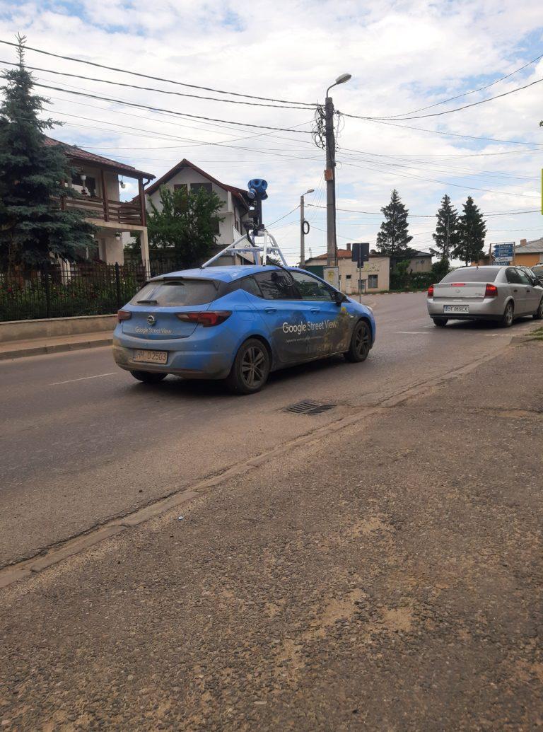 Mașinile Google Street au revenit la Botoşani