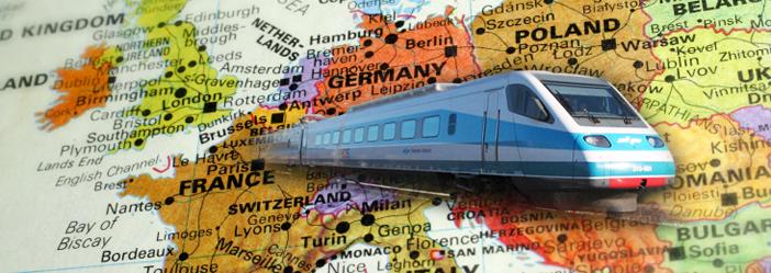Călătorii mai ieftine cu trenul către Europa
