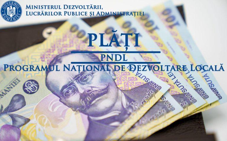 Guvernul a epuizat banii pentru PNDL. Se așteaptă rectificarea bugetară