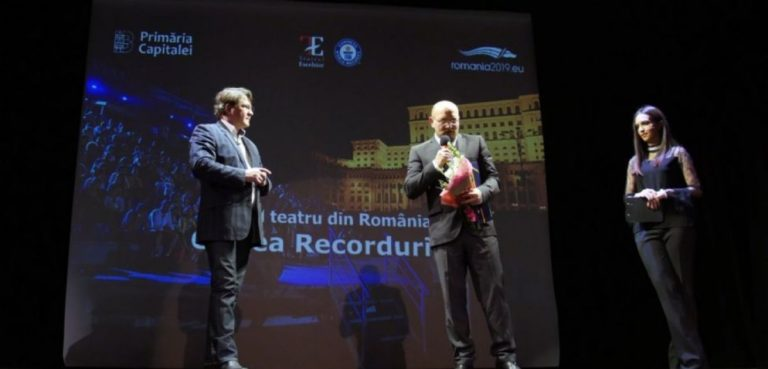 Botoşănean ajuns în Cartea Recordurilor. A creat cea mai mare gradenă rotativă din teatru