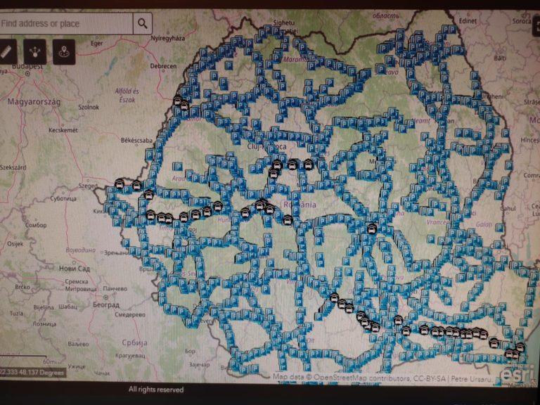 Aplicație cu parcările și spațiile de servicii de pe drumurile naționale și autostrăzi lansată de CNAIR