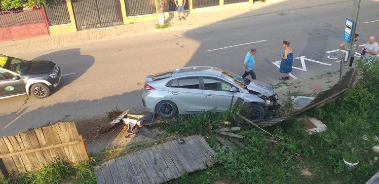 Accident provocat din cauza unui câine