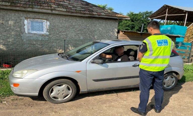 Tânăr cercetat pentru conducerea unui autovehicul fără permis