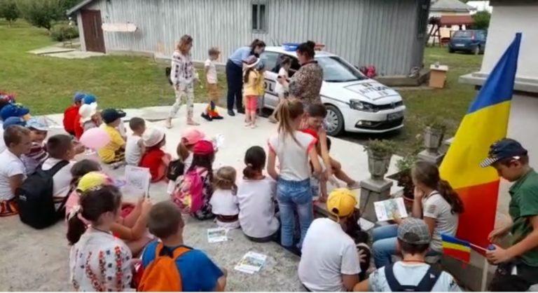 Sfaturi oferite copiilor de polițiști