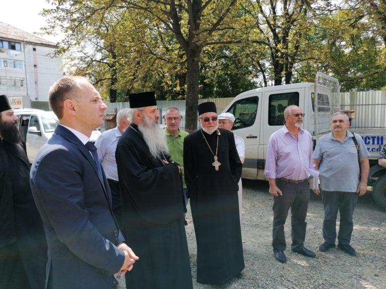 """MONITORUL VIDEO: Cosmin Andrei anunţă care este stadiul lucrărilor la """"Biserica Sfântul Gheorghe"""""""