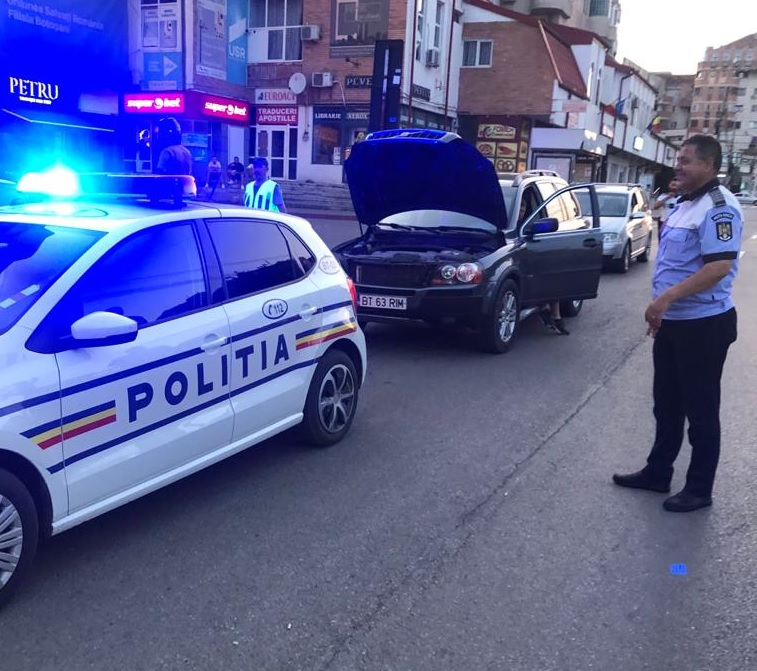Acțiune a polițiștilor rutieri soldată cu zeci de sancțiuni