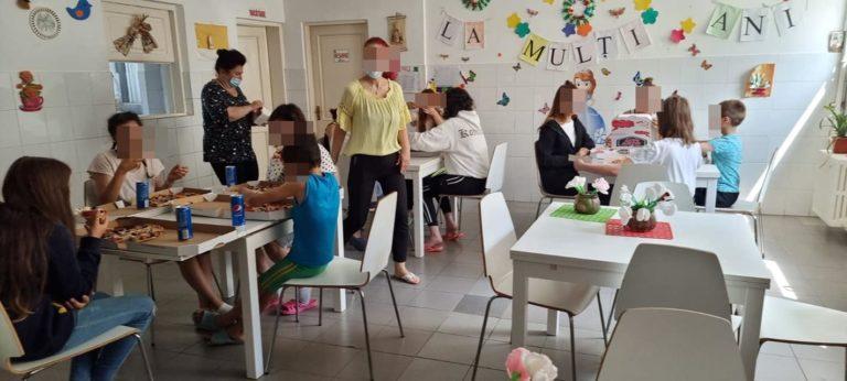 Zi de naștere oferită copiilor din centre de plasament