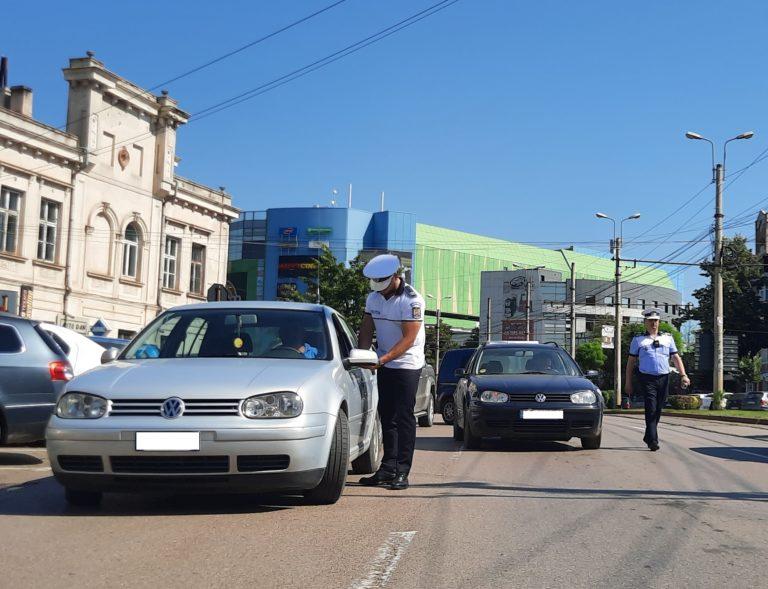 Șoferi amendați pentru viteză. Zeci de sancțiuni aplicate după acțiunea polițiștilor rutieri