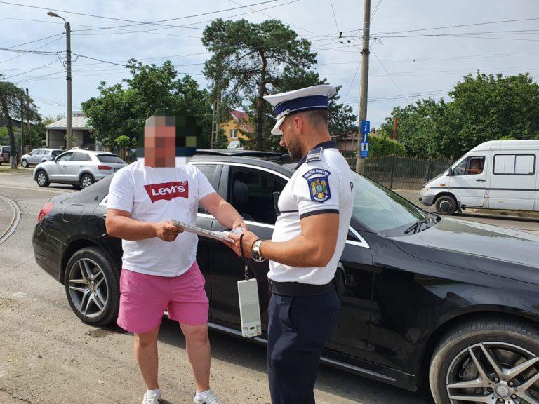 Acțiune de amploare a polițiștilor rutieri pentru prevenirea accidentelor (VIDEO)