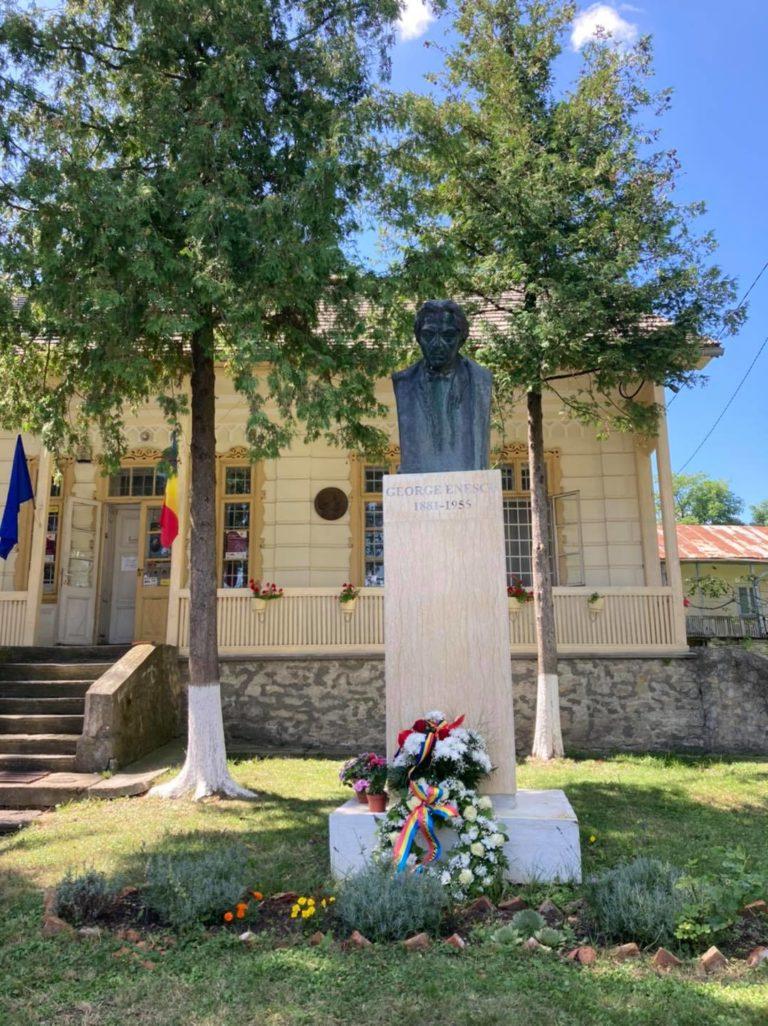 George Enescu, omagiat și la Dorohoi