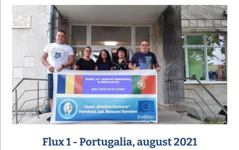 Profesori din Darabani, la un curs de formare profesională în Portugalia
