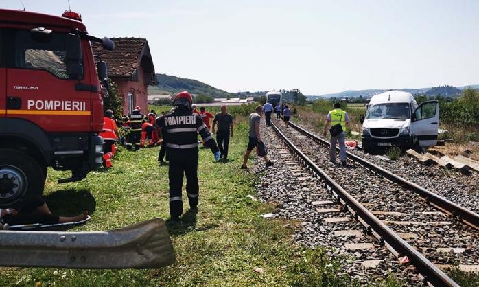 Femeie moartă după accidentul feroviar din Cluj. Fiica ei este în stare critică (video)