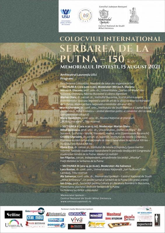 Colocviu internaţional organizat la Memorialul Ipoteşti