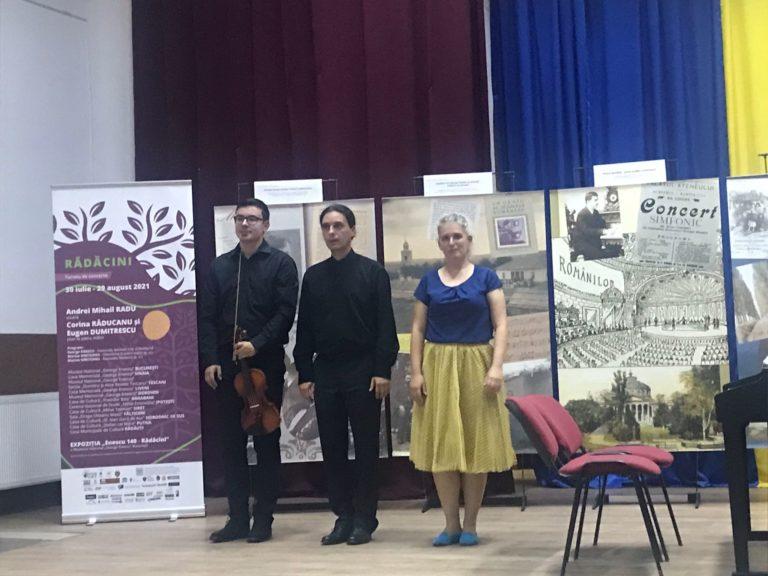 """Turneul de concerte """"Rădăcini"""" a ajuns la Darabani (video)"""