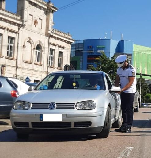 Șofer dat jos de la volan pe Calea Națională