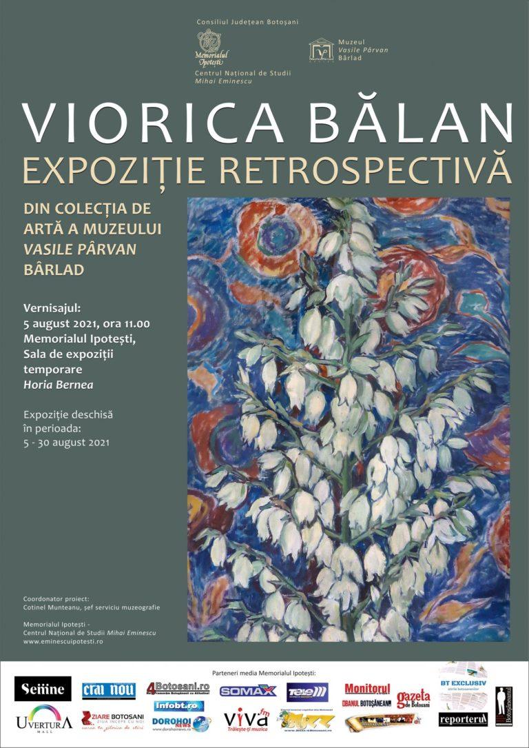 Expoziţie retrospectivă Viorica Bălan, la Memorialul Ipoteşti