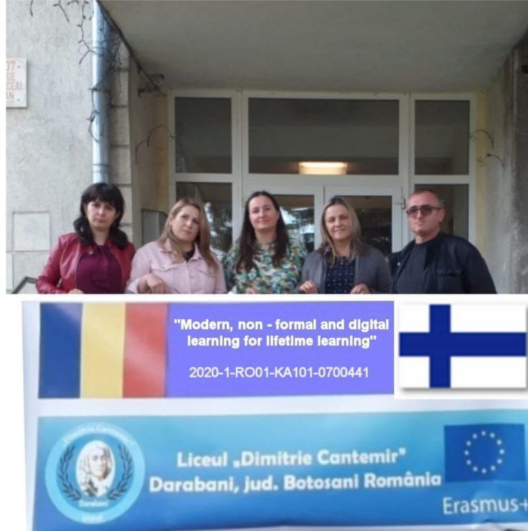 Profesori din Darabani, la un nou curs de formare profesională în Finlanda