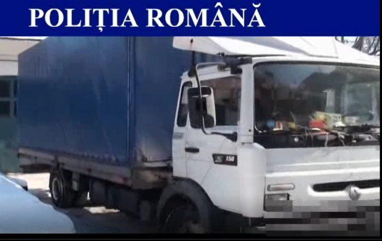 """Camion pierdut în favoarea statului din cauza unor """"condimente"""" cu tutun (VIDEO)"""