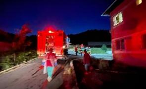 Incendiu la Spitalul de Psihiatrie Vulcan din judeţul Braşov: 150 de pacienți evacuați