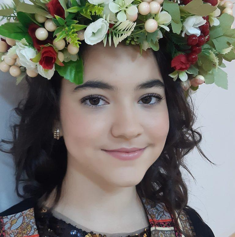 Tânără botoșăneancă premiată la un festival în Republica Moldova