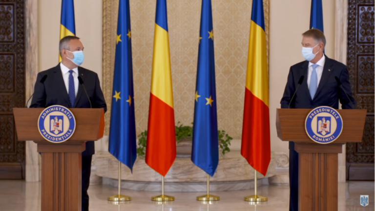 O nouă încercare: Klaus Iohannis l-a desemnat pe Nicolae Ciucă să formeze un nou guvern
