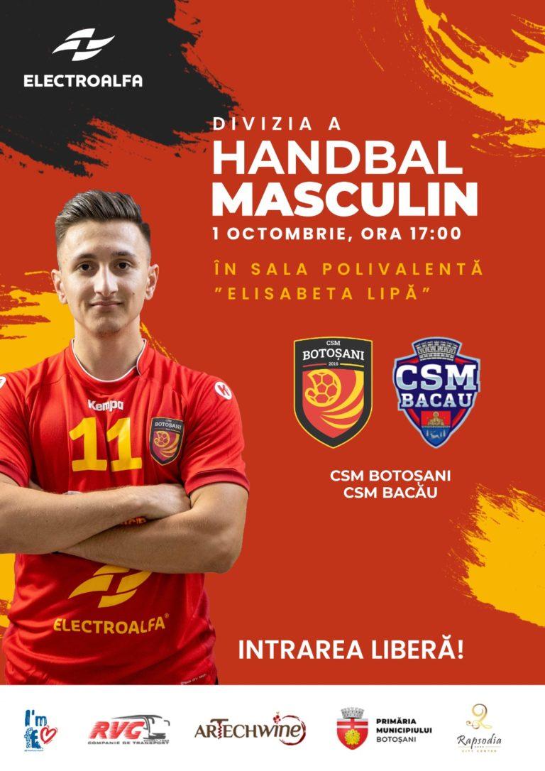 Astăzi, ora 17:00 » CSM Botoșani – CSM II Bacău »» Intrarea LIBERĂ la Polivalentă »»